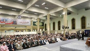 رهبر معظم انقلاب: هر جا به حضور ما در مقابله با استکبار نیاز باشد کمک خواهیم کرد/ وحدت امت اسلامی اوجب واجبات است