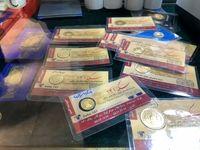 بهای طلا و دلار در اولین روز هفته