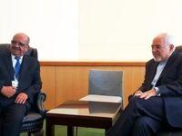 ظریف با وزیر خارجه الجزایر دیدار کرد