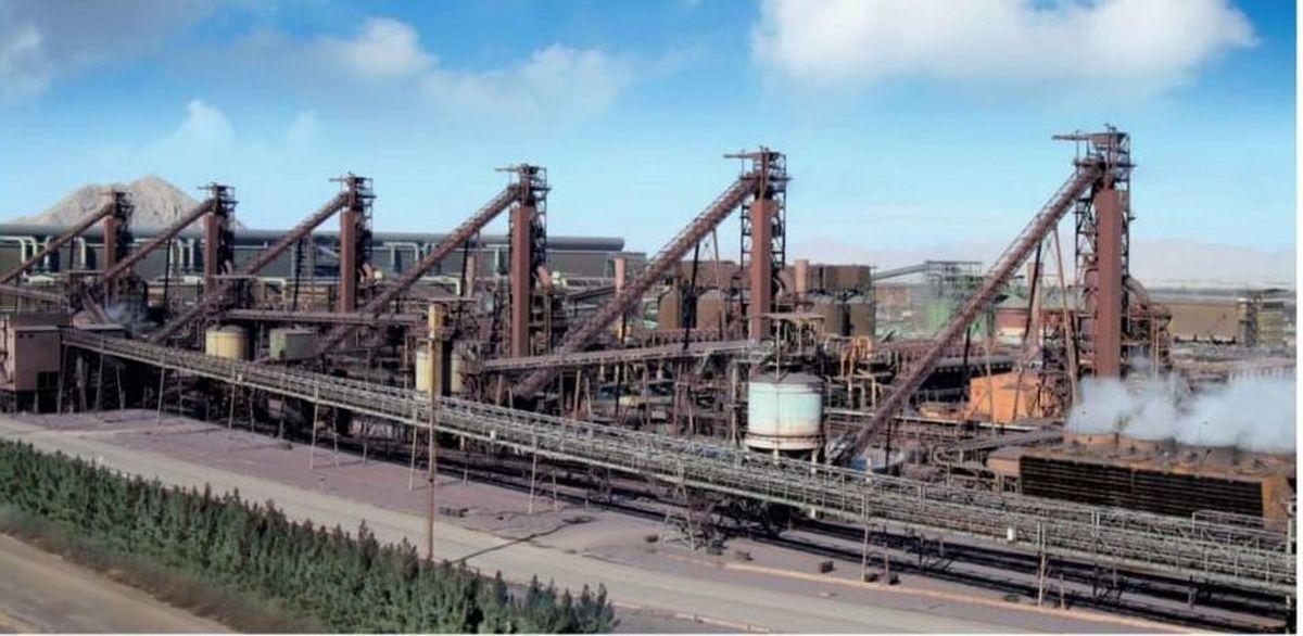 عبور از مرز تولید روزانه ۲۵هزار تن آهن اسفنجی در شرکت فولادمبارکه