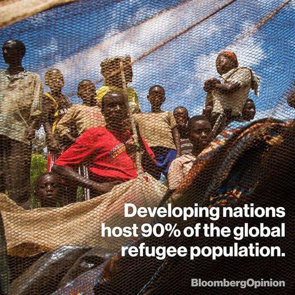 90درصد پناهندگان جهان در کشورهای در حال توسعه!