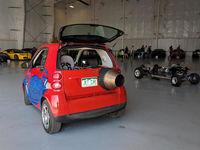 خودروی فورتوی 2000اسببخاری برای حرکت در شهر +عکس