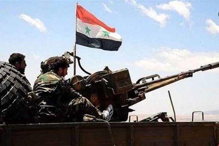 مقابله پدافند هوایی ارتش سوریه با تجاوز جدید صهیونیستها