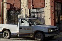 21کشته در جنگ پلیس مکزیک با تبهکاران +عکس