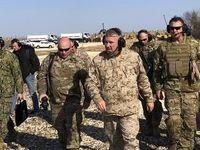 فرمانده سنتکام به سوریه رفت