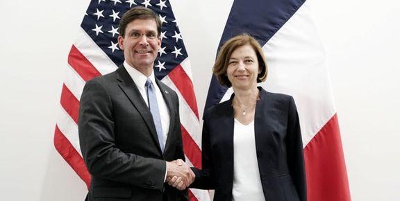 نشست هماهنگی وزرای دفاع آمریکا و فرانسه درباره امنیت کشتیرانی در تنگه هرمز