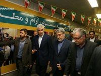 افتتاح فاز دوم متروی شیراز با حضور وزیر کشور
