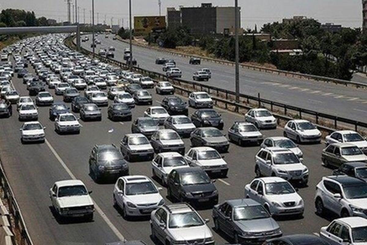 افزایش ۴۰درصدی تردد خودرو در جاده ها