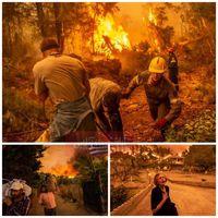 یونان با یک فاجعه طبیعی بی سابقه مواجه شد