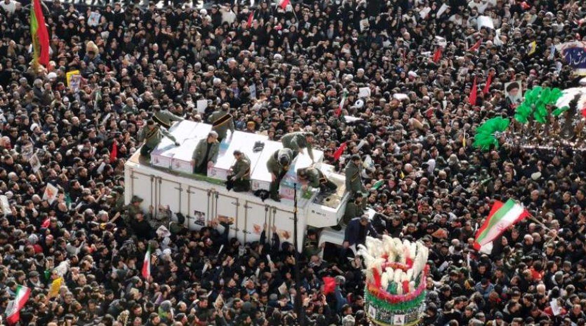 بهت و حیرت رسانههای جهان از وداع میلیونی با سردار شهید