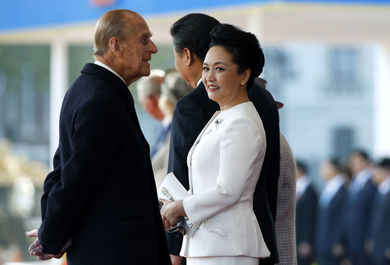 پنگ لیوآن همسر رئیس جمهور چین