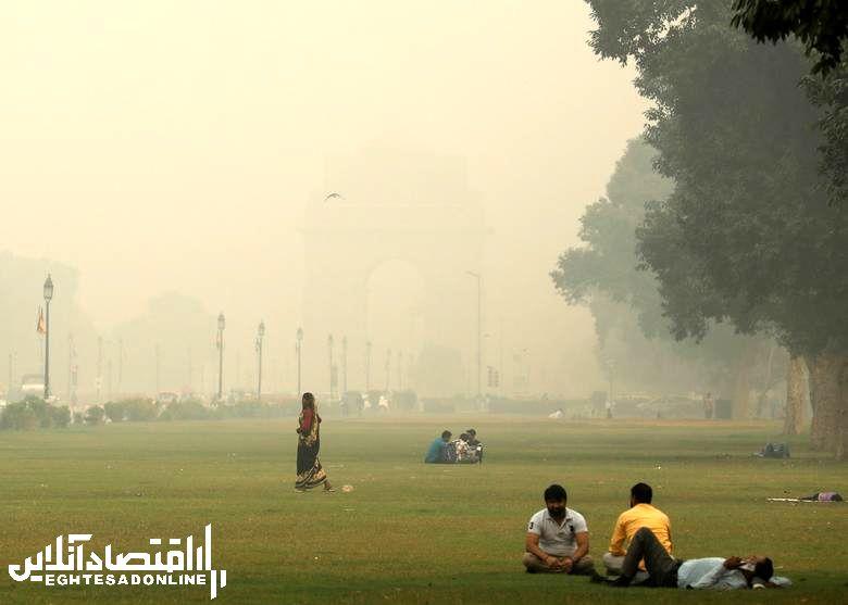 آلـودگی هوا در دهـلی