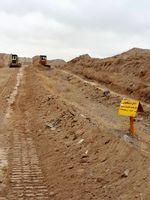 تسطیح مسیر خط لوله ری-تبریز