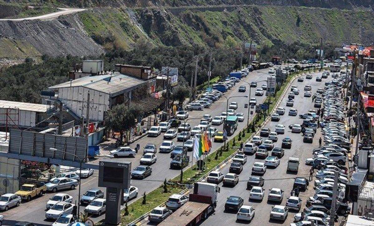 اعمال محدودیتهای ترافیکی از فردا در محورهای شمال