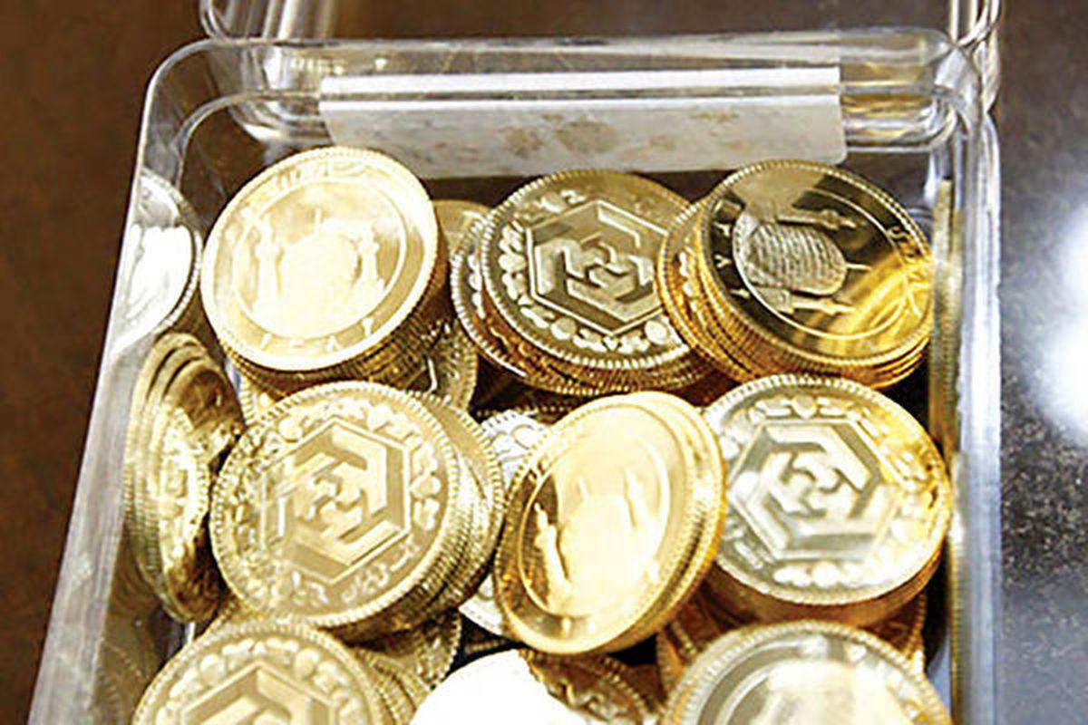 ۸۰۰ هزار تومان؛ کاهش قیمت سکه