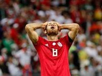 تصاویر منتخب بازی ایران و اسپانیا در جامجهانی ۲۰۱۸