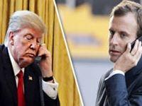 گفتوگوی تلفنی ترامپ و ماکرون درباره ایران