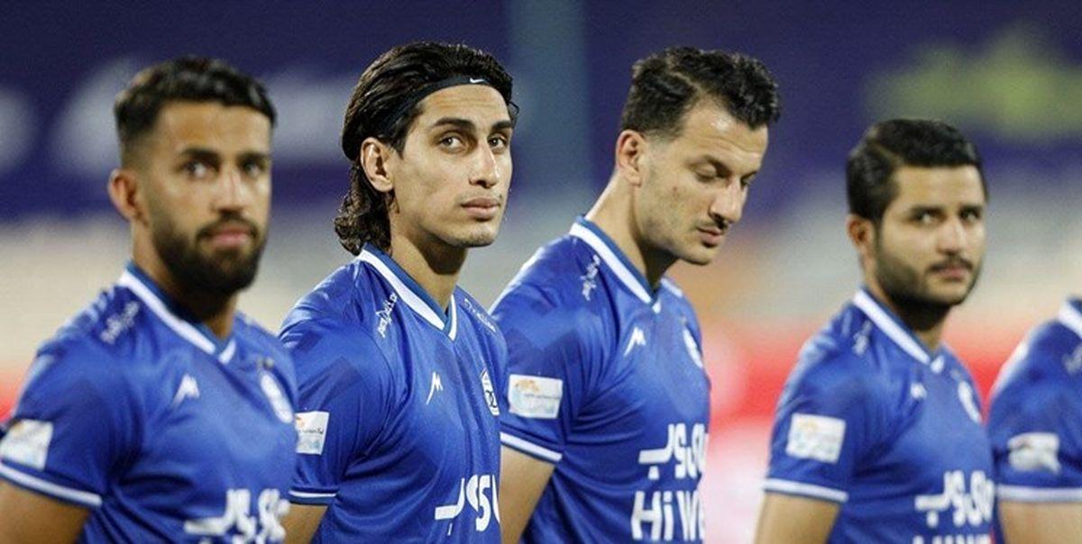 خداحافظی یک بازیکن استقلال بعد از پایان جام حذفی