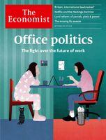 منازعه بر سر آینده محیط کار؛ روی جلد اکونومیست