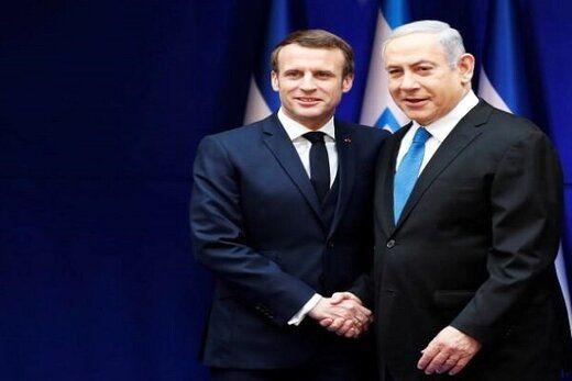 نتانیاهو درباره ایران به مکرون راهکار داد