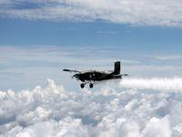 بارورسازی ابرها در ۱۰استان کشور با پهپاد