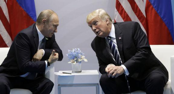 درخواست پوتین از ترامپ طی پیام تبریک سال نو میلادی