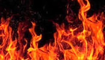 آتشسوزی تاسیسات نفتی عربستان پس از حمله یمن +فیلم