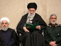 مراسم بزرگداشت سردار سلیمانی در حضور رهبر انقلاب +عکس