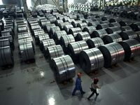 افت تولید فولاد در کشورهای صنعتی