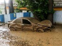 سیلاب در ۱۶ شهر و روستا