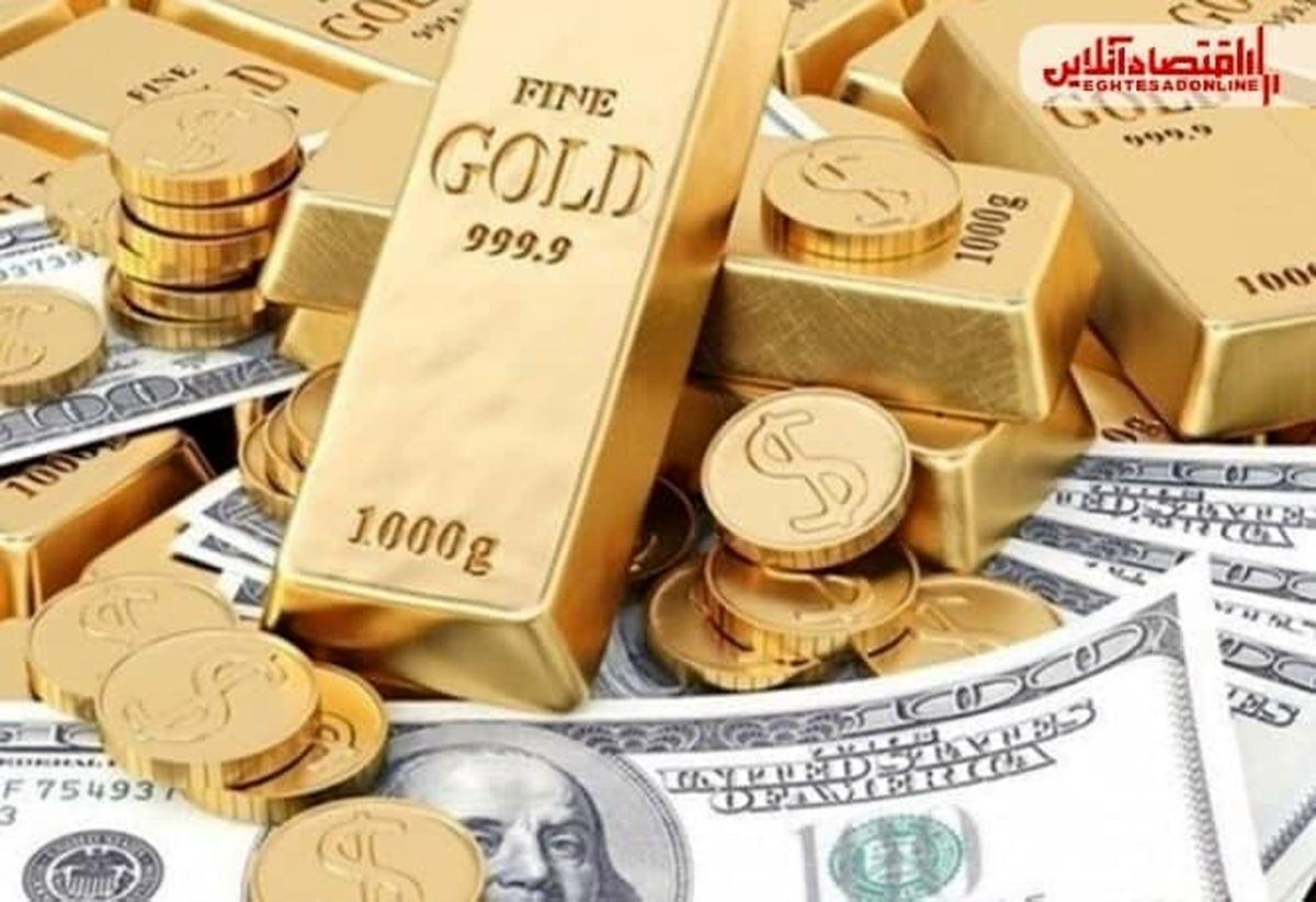 قیمت اونس جهانی طلا صعود کرد