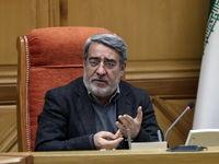 انتقاد وزیر کشور از مهران مدیری