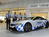 تبدیل شدن بامو آی۸ به خودروی پلیس استرالیا +تصاویر