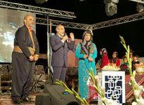 حضور جواد خیابانی در جشن شب یلدا +فیلم