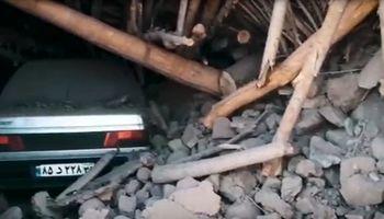 میانه در میان ویرانههای زلزله +فیلم