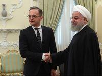 دیدار وزیر خارجه آلمان با رئیسجمهور +تصاویر