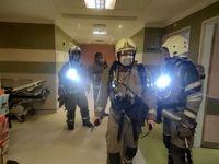 علت حادثه آتش سوزی کلینیک سینا مهر اعلام شد