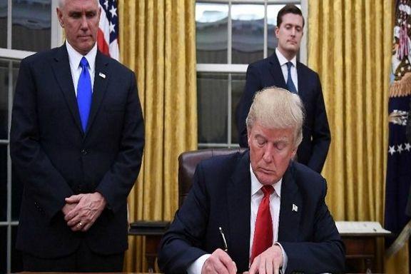 ترامپ فرمان تحریم مداخلهکنندگان در انتخابات آمریکا را امضا کرد