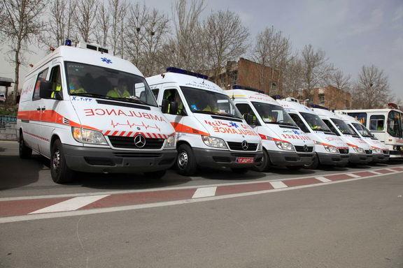 استقرار اورژانس تهران در نقاط پرتردد شهر