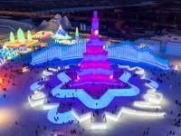 فستیوال اعجاب انگیز یخ و برف +تصاویر