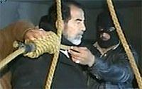 گریه سربازان آمریکایی زمان اعدام صدام