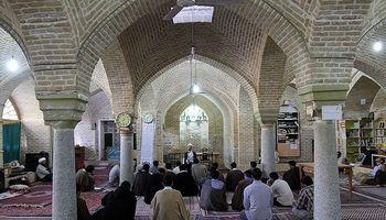 مراسم اعتکاف ماه مبارک رمضان در همدان +عکس