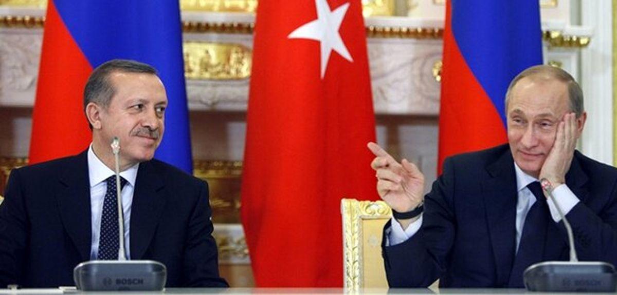 آنچه در دیدار اردوغان و پوتین گذشت
