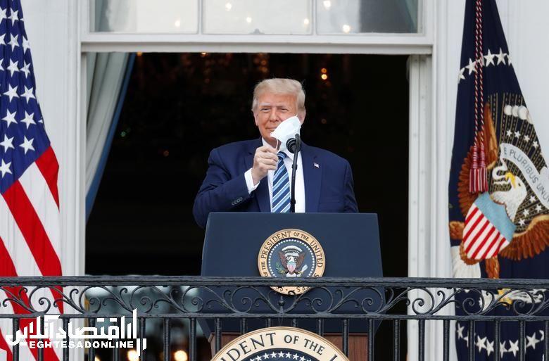 سخنرانی ترامپ پس از ابتلا به کووید