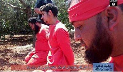 داعش 3 نفر از اعضای النصره را سر برید +عکس