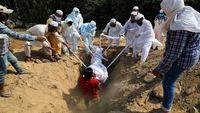 هند در شمار فوتی های کرونا رکورد زد