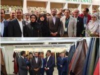 بازدید سفیر ایران از غرفههای ایرانی در نمایشگاههای بینالمللی