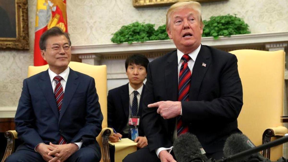 هواپیمای رییس جمهور کره جنوبی وارد لیست سیاه ترامپ شد