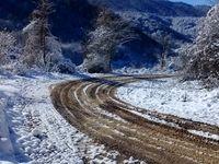 بارش برف و باران و بروز گردوخاک در برخی نقاط کشور