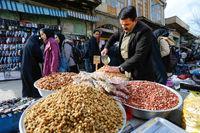 بازار شب عید تنظیم شده است